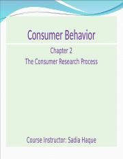 chapter 2 the consumer research process