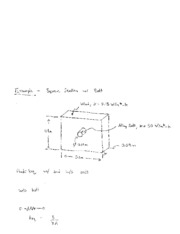 Example Problem_Thermal Resistance of Wall with Bolt