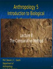 Lecture 8 Comparative method.ppt