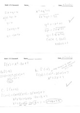 Math 171 Class Notes- 2x+y=6
