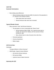 AAST 502 Test 2 Study Guide