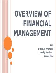 Overview of Financial Management.pptx