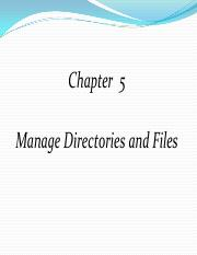 Chapter-5-Directories and files in Linux System.pdf