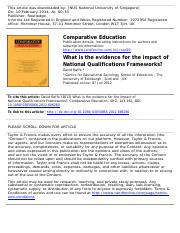 What is the evidence for the impact of National Qualifications.pdf