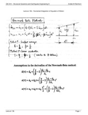 CIE619-Lecture13b-Numerical Solutions