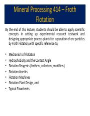 Mineral Processing - Froth flotation.pdf.pdf