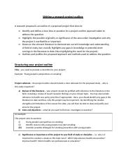 Writing a research project outline(1).docx