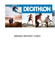 Brand Report Card - Decathelon.docx