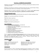 Functional Areas of Management - Class Notes.pdf