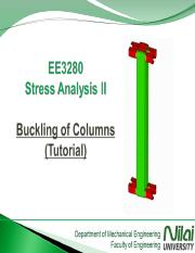 Buckling of Columns-Tutorial