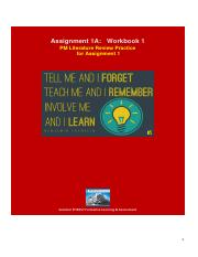 Assignment 1A - Workbook 1 V1.pdf