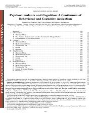 Wood Anangostaras_Psychostimulants and cognition a coninuum_Pharmacol Rev_2014.pdf