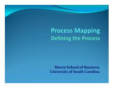 4.0 Process Mapping