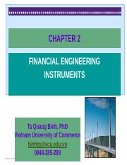 CHAPTER 2- Financial engineering instruments