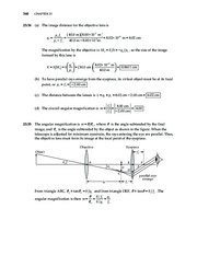 24_Chapter 25 HomeworkCH25 Optical Instruments