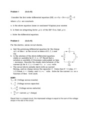 MAE 182 Sample Final Exam