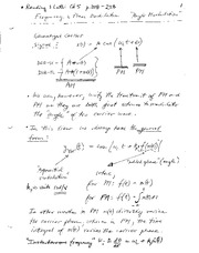 EE 390 Frequency Notes