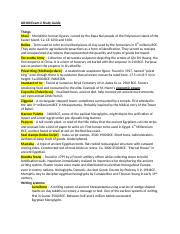 AR100 Exam 2 Study Guide.docx