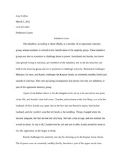 Analytical Essay 2