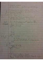 Scientific programming notes numerical integration