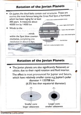 Rotation of Jovian Planets Class Notes