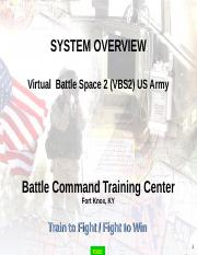 VBS2 Overview
