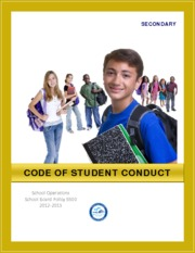 Secondary Code of Student Conduct