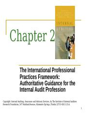 Chapter 2 - International Professional Practices Framework