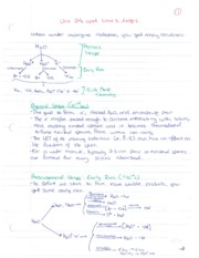 Chem 4404 - Units 3 and 4 Notes (When water undergoes radiation)
