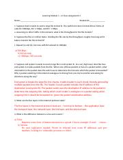 Learning Module 1 In-Class Assignment 2 Answers.docx