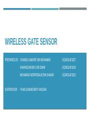Demo 1 Wireless Gate Sensor.pptx