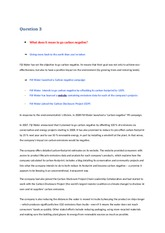 fiji water carbon negative case study Fiji water case study article (mktg 405) - download as pdf file (pdf), text  file  complex challenges to achieve its goal of a carbon negative outcome at its .