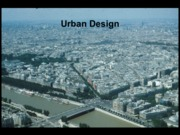 Lecture Urban Design Final for Landscapes and Sustainability