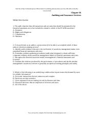 Louwers--Auditing and Assurance Services 4e.doc