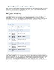 What is a Marginal Tax Rate.docx