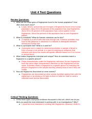 Forensics - Unit 4 Text Questions .docx