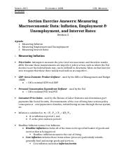 03 Section Exercise Answers- Measuring Macroeconomic Data- Inflation%2C Employment %26 Unemployment%