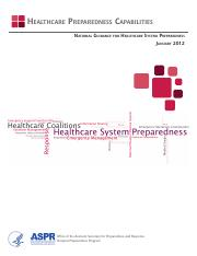 Healthcare Preparedness Capabilities.pdf