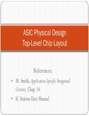 L31_ASIC Layout_4 Chip Level