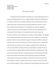 Eng Comp 3- Essay #1 Rough Draft