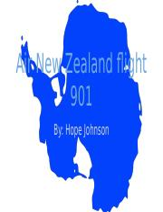 Plane Crash-Air New Zealand flight 901