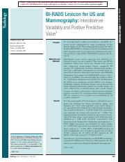 BI-RADS Lexicon for US and Mammography Interobserver Variability and Positive Predictive Value.pdf
