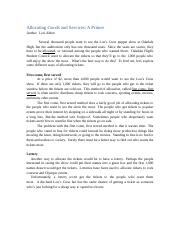 MACR_Handout_ Allocation of Goods