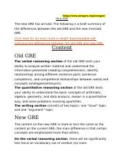 GRE DIFFERENCES - OLD VS NEW.docx