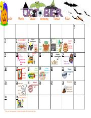 October Calendar of Events.pptx