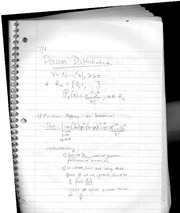 class notes- poisson distribution