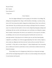Thesis on a person