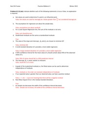 Practice Midterm #3 Solutions