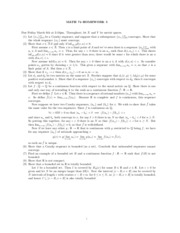 Partial Solutions to Homework 05