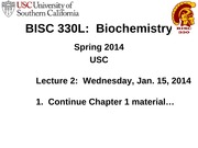 BISC_330_Spring_2014_Lecture_2